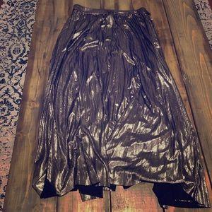 🌟 metallic skirt 🌟